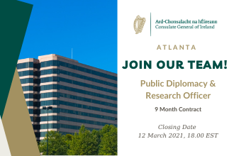 Public Diplomacy and Research Officer - 9 Month Contract