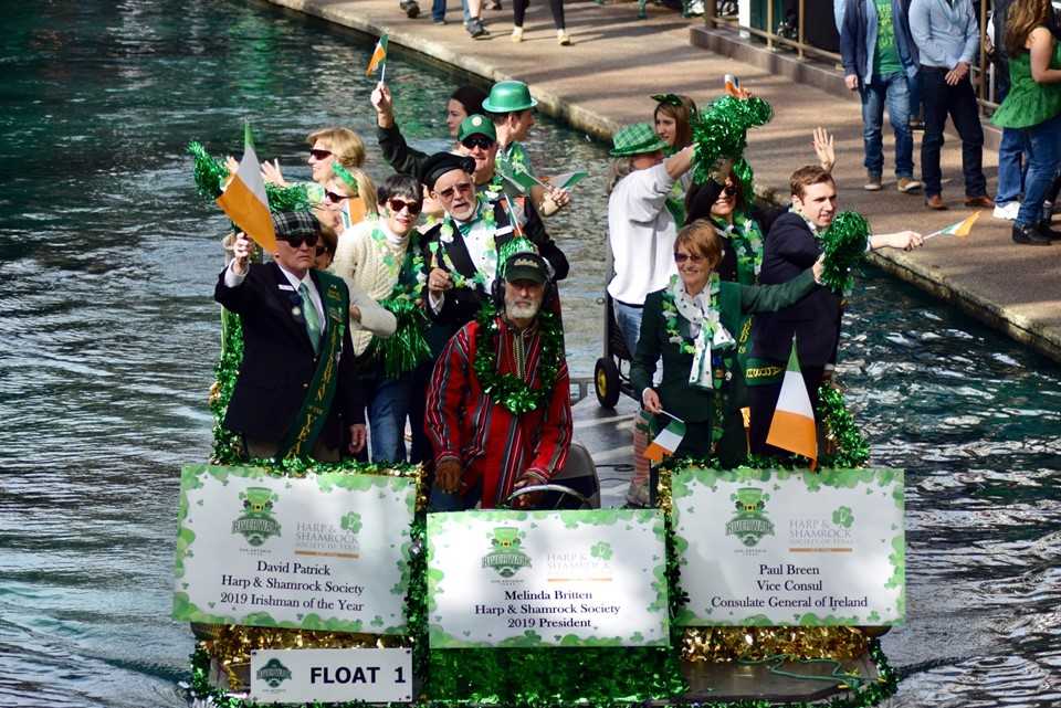 St Patrick's Day 2019 in Texas