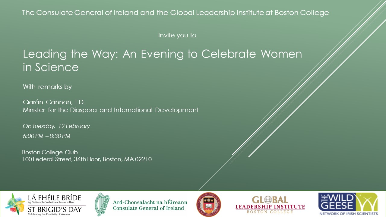 Leading the Way: An Evening to Celebrate Women in Science