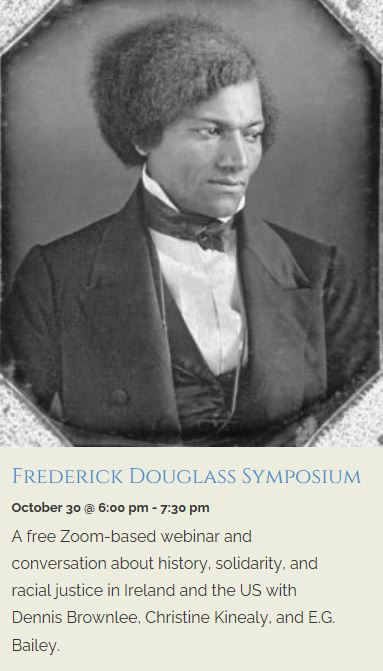 Oct 30th: Frederick Douglass Symposium at Celtic Arts Center, Minnesota