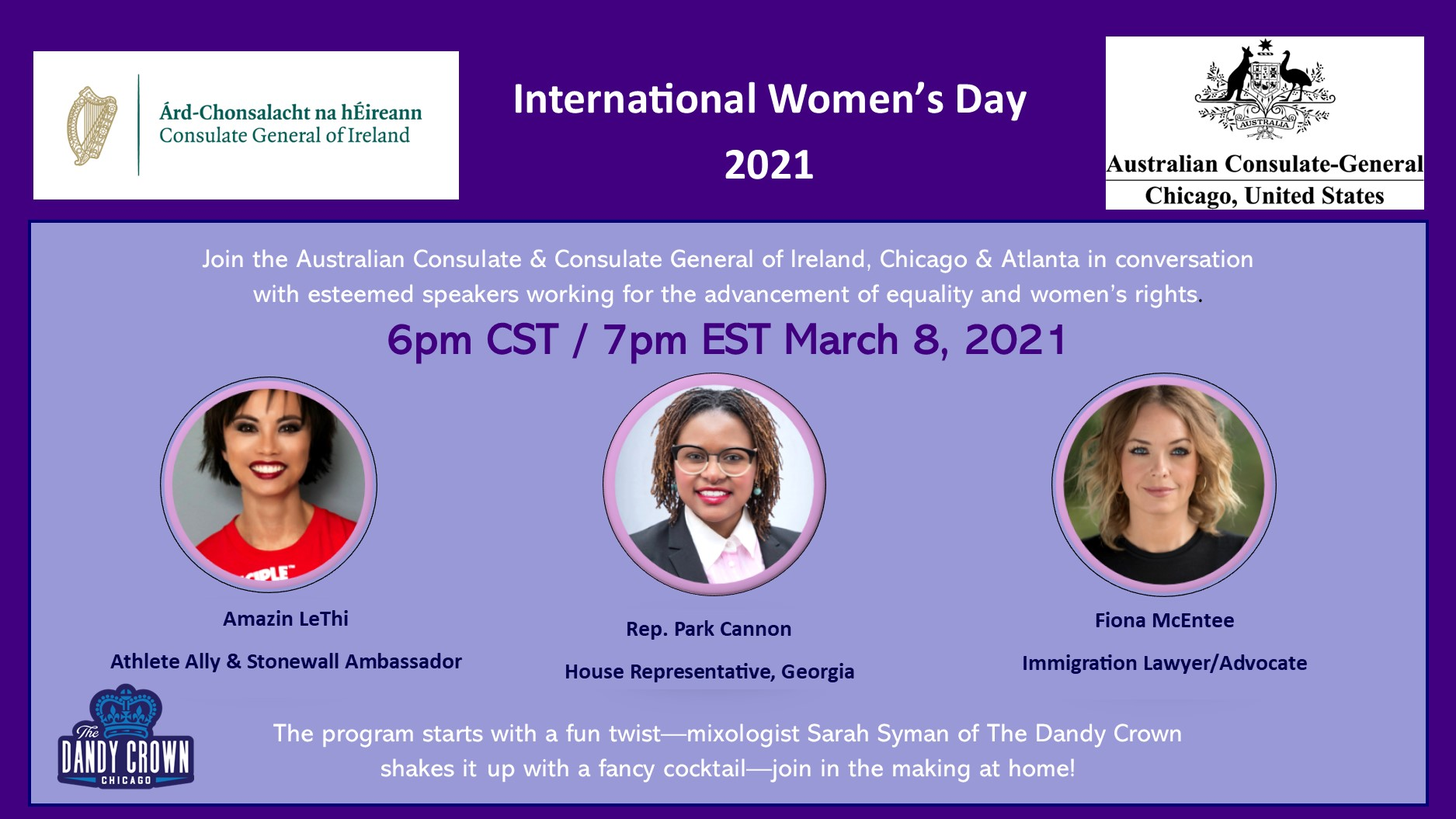 March 8 International Women's Day 2021 Theme #ChooseToChallenge