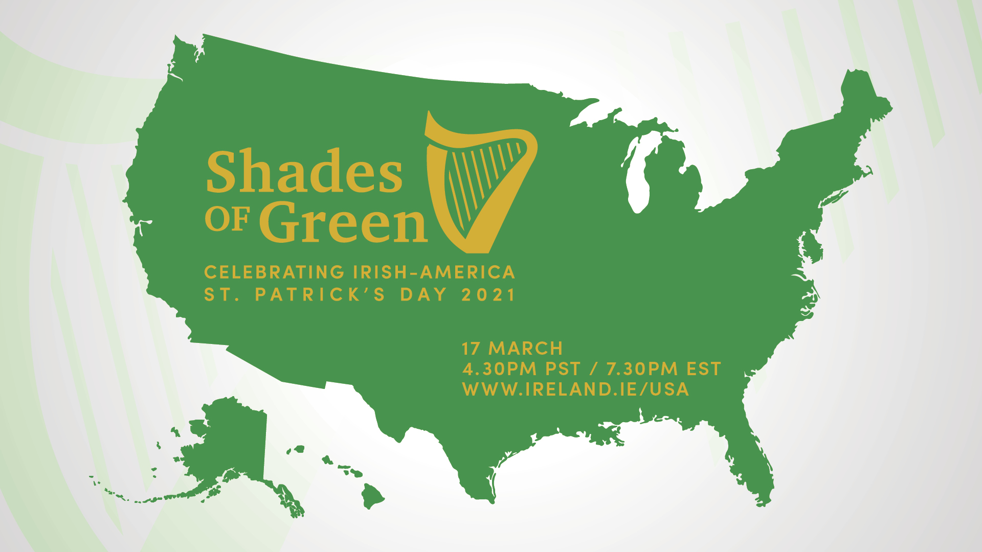 Shades of Green-St Patrick's Day Celebration of Irish America