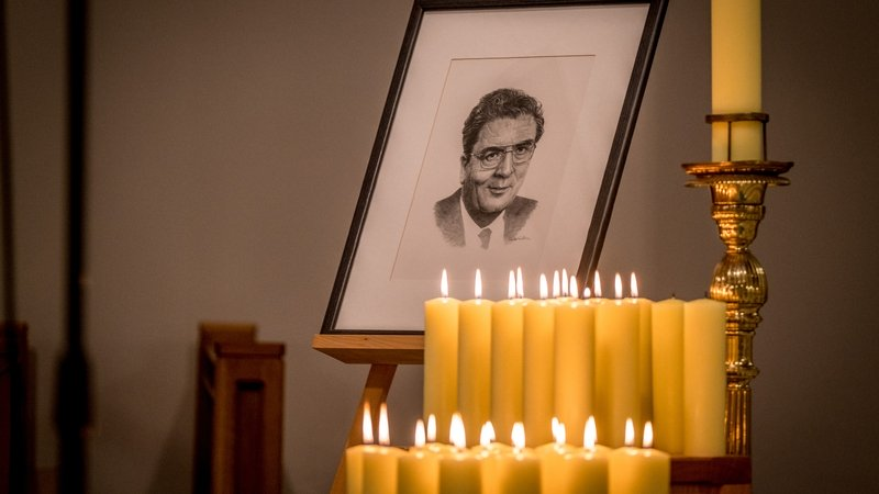Book of Condolences for the late John Hume
