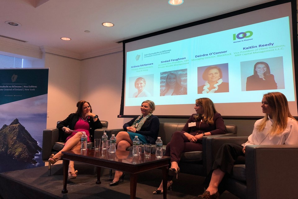Panel Discussion for Women in Finance Hosted at the Consulate to Celebrate St Brigid's Day