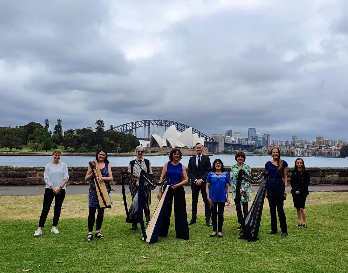 Harp Day celebrated for the first time in Sydney
