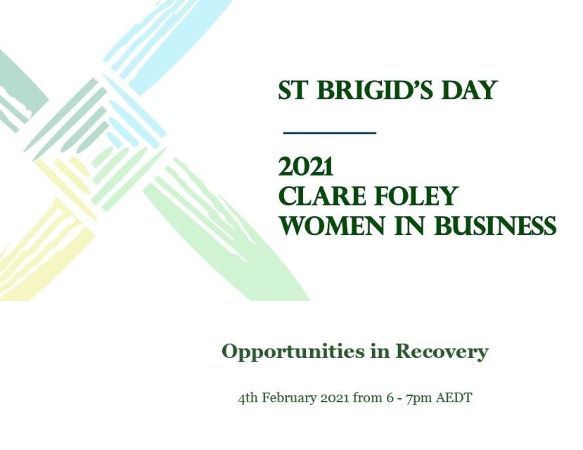 2021 Clare Foley Women in Business Event, 4th February