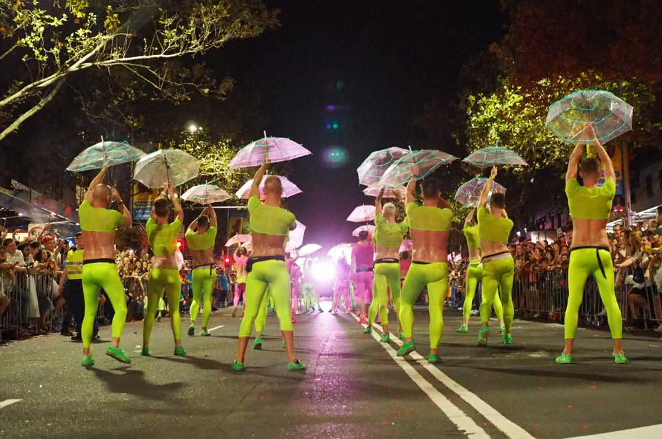 Sydney Queer Irish light up Oxford Street