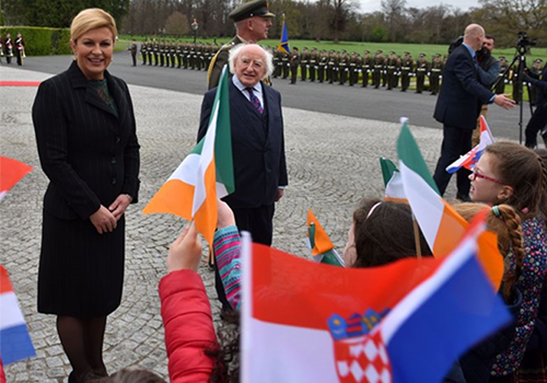 State Visit of Croatian President to Ireland