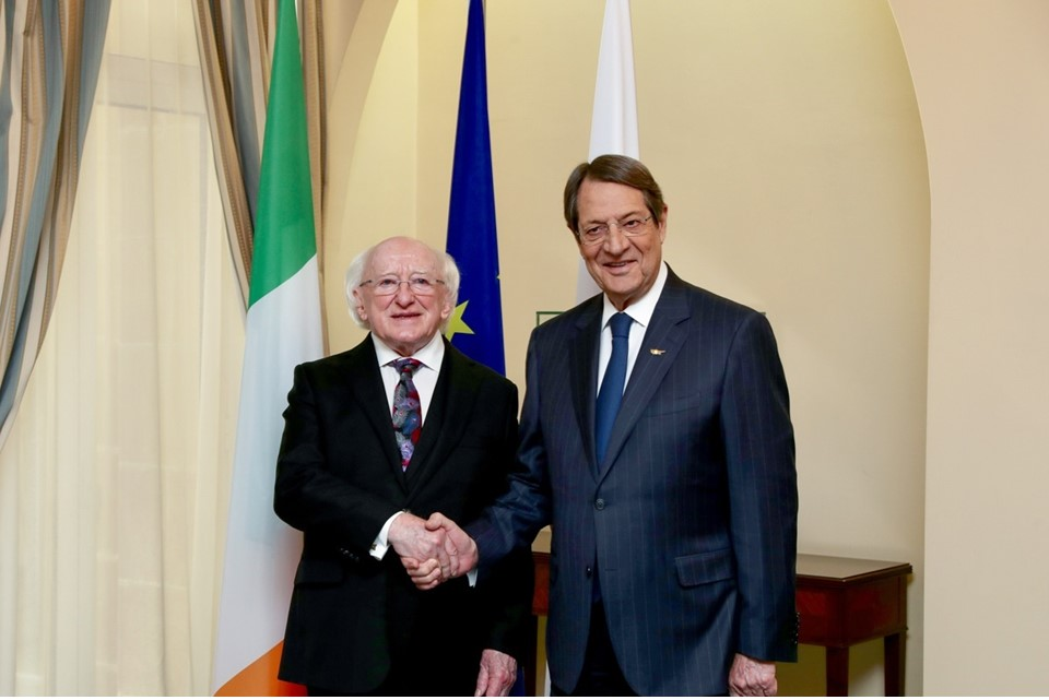 State Visit to the Republic of Cyprus by the President of Ireland and Sabina Higgins 14-16 Oct 2019