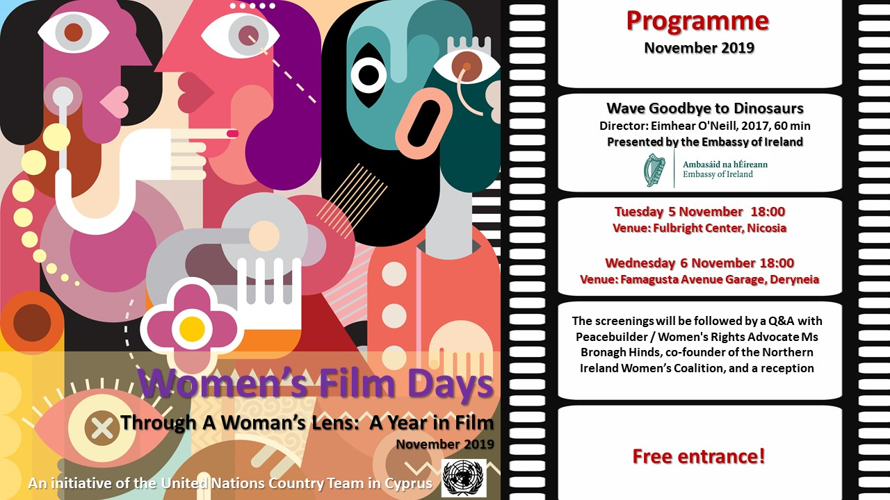 "Women's Film Days - ""Wave Goodbye to Dinosaurs"" Screenings and Q&A - 5 & 6 November 2019 at 18:00"