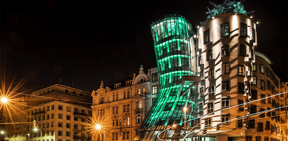 Greening of Dancing House