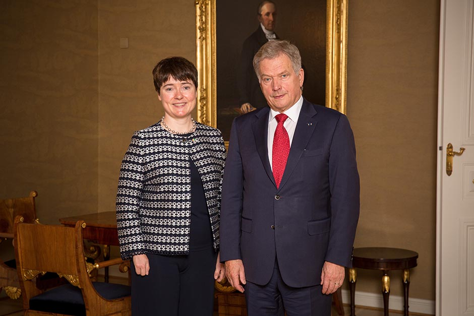 Photos taken by Juhani Kandell/Office of the President of the Republic of Finland