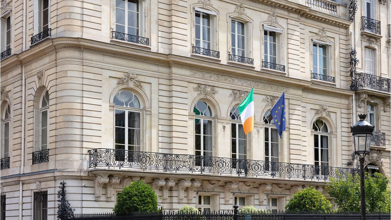 Letter from Ambassador O'Brien to the Irish Community in France, 26 March 2020
