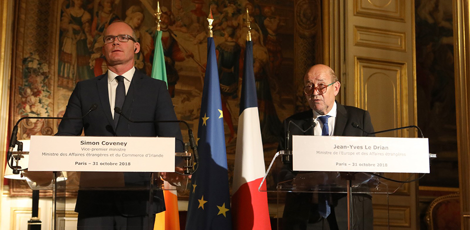 Review of Relations between Ireland and France