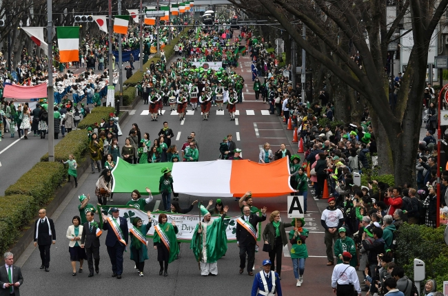 St. Patrick's Day Parade Tokyo 2019 (organised by Irish Network Japan Tokyo)