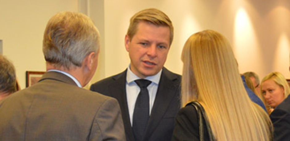 Mayor of Vilnius visits the Embassy