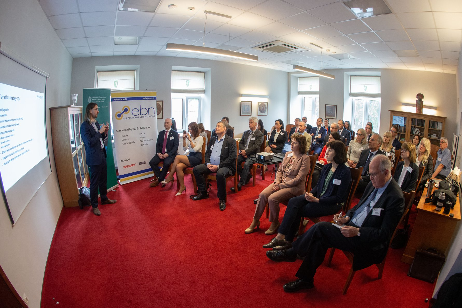 The Embassy hosted the European Business Network