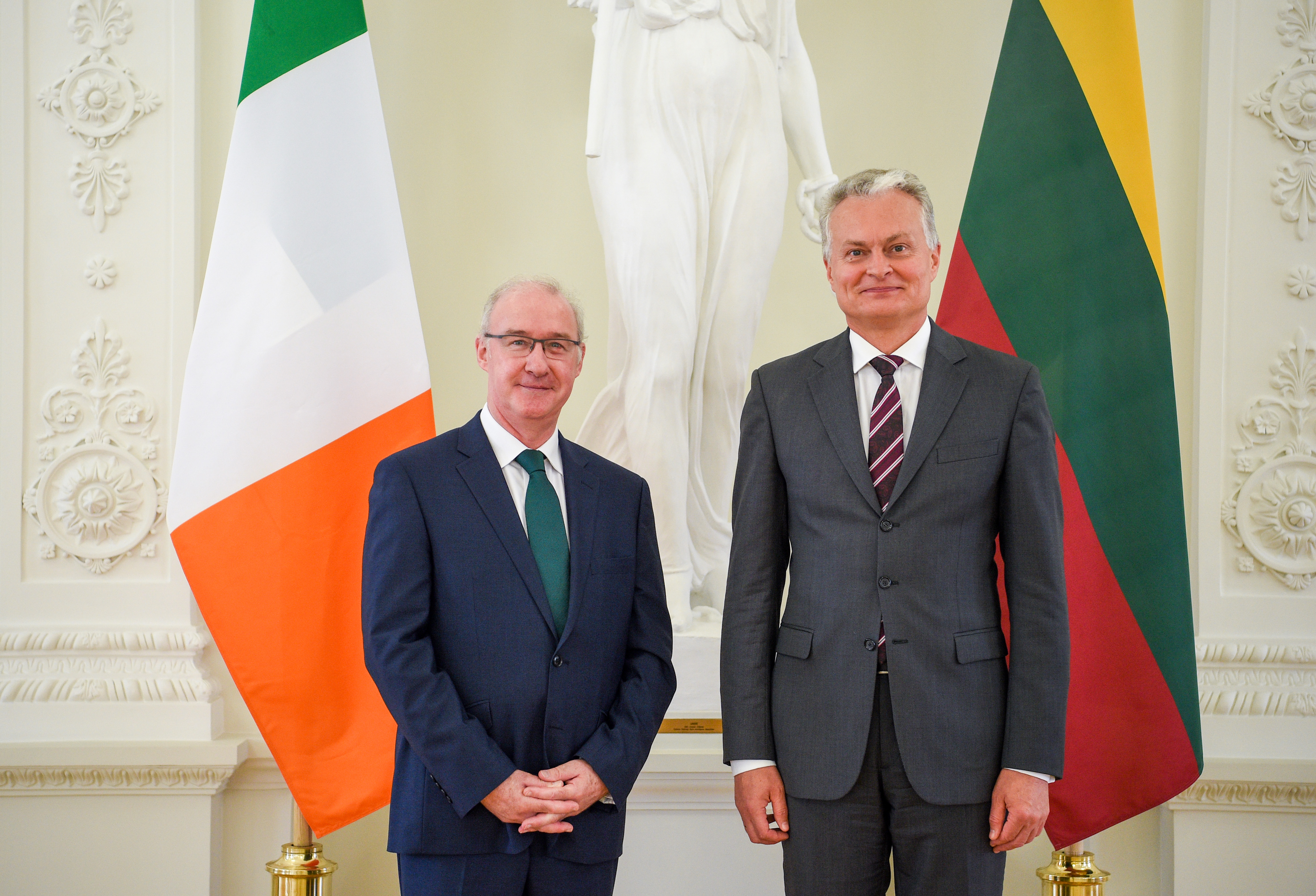 New Ambassador of Ireland presented credentials to the President of Lithuania