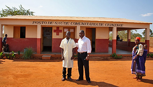 Health Clinic in Mozambique