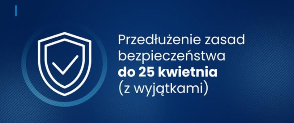 Covid-19 measures in place in Poland from 19 April