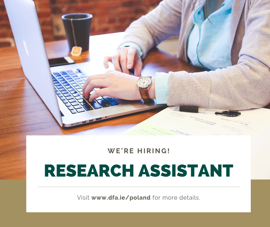 Vacancy: Temporary Research Assistant