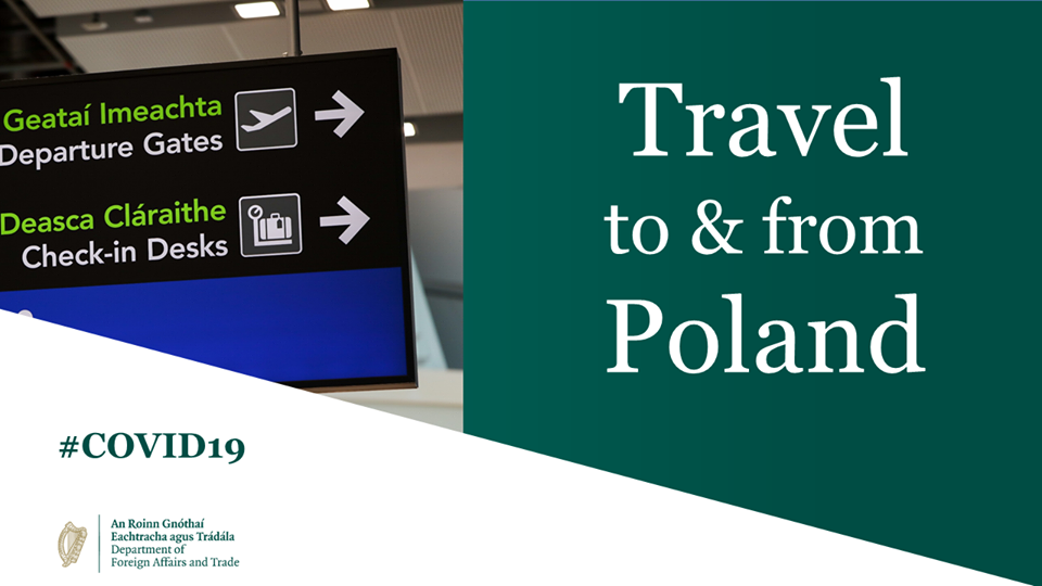 Ireland – Poland Travel Update 22 June 2020