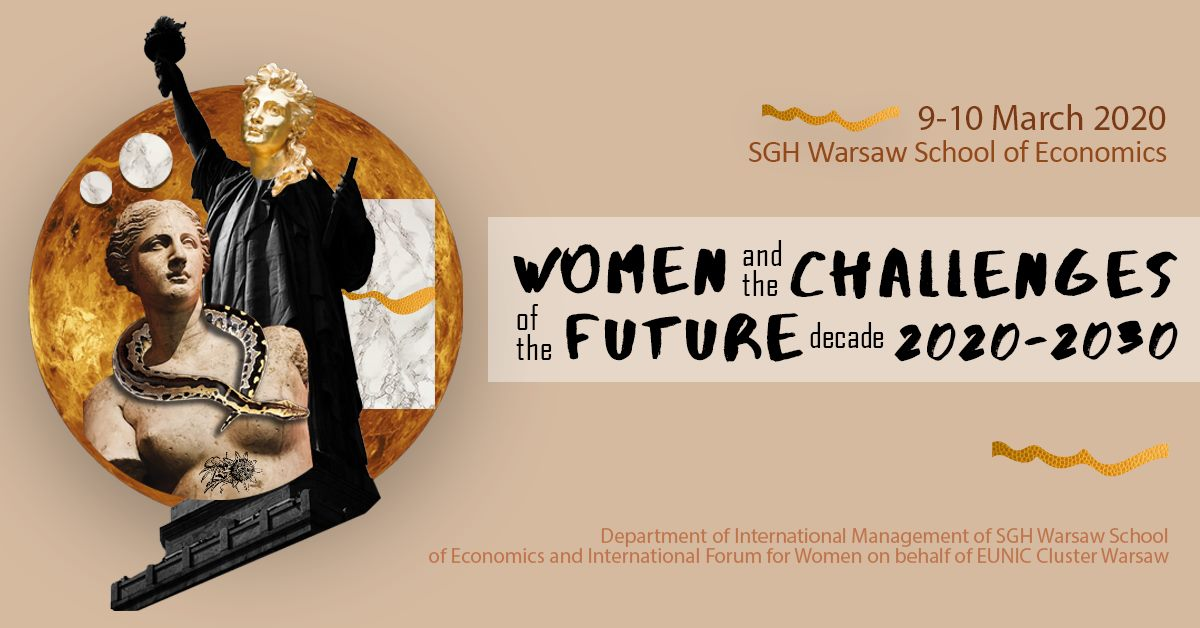 "Conference: ""Women and the Challenges of the Future Decade 2020-2030"""