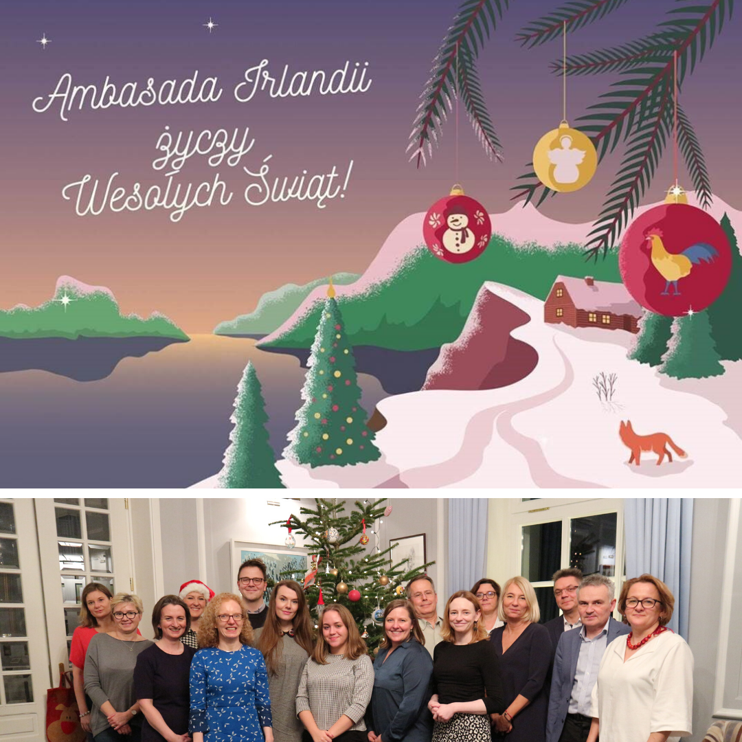 Happy Christmas from the Embassy of Ireland!