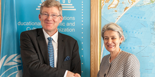 Ambassador Nolan presents credentials UNESCO