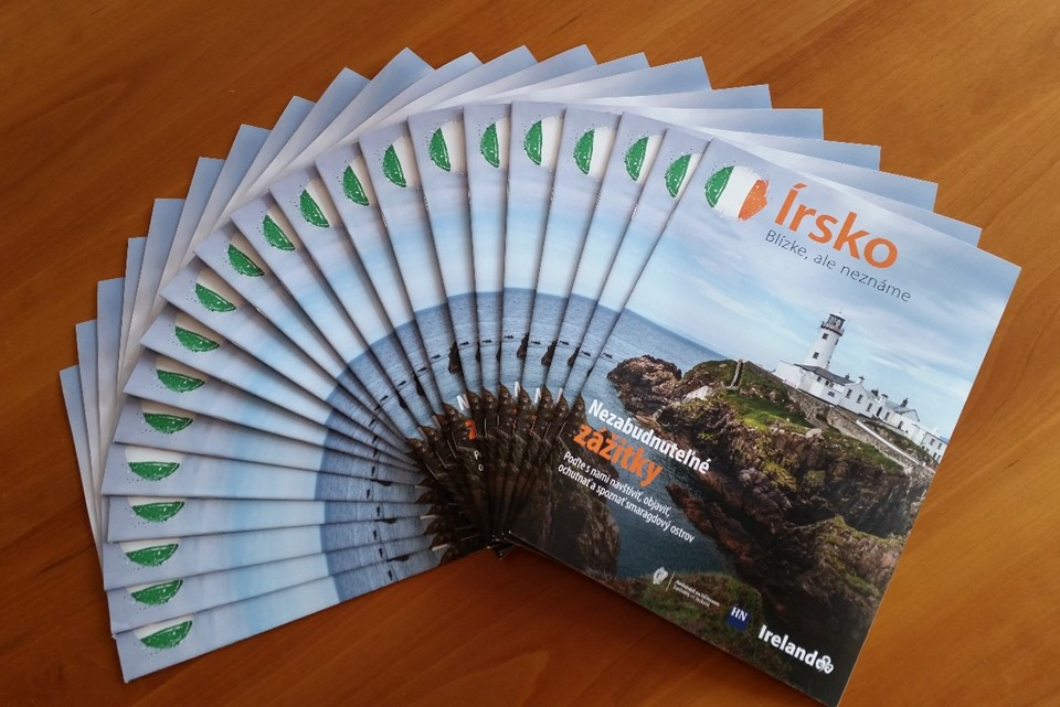 Promotion of Ireland in Slovak media