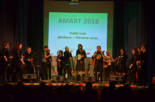 Amart – Big Irish night in Brestanica on Saturday 14 April