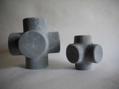 Irish sculptor exhibiting in Celje