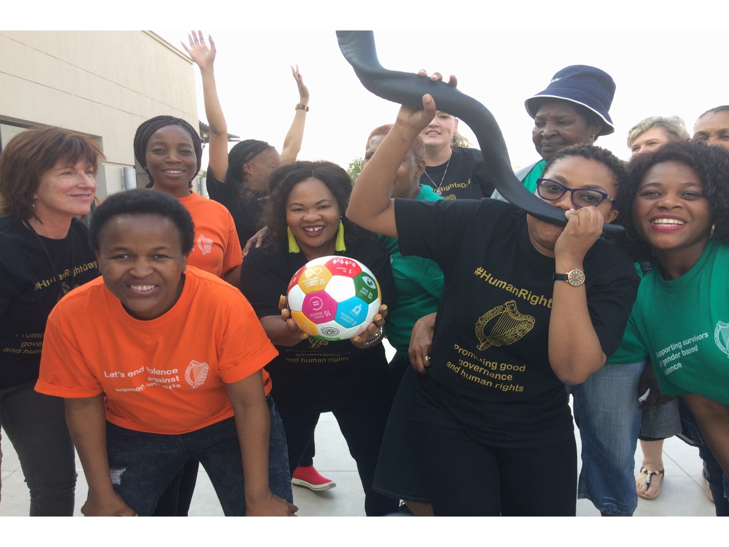 Embassy Team preparing for Global Goals World Cup