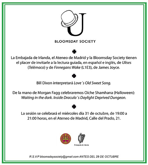 Bloomsday Society Madrid