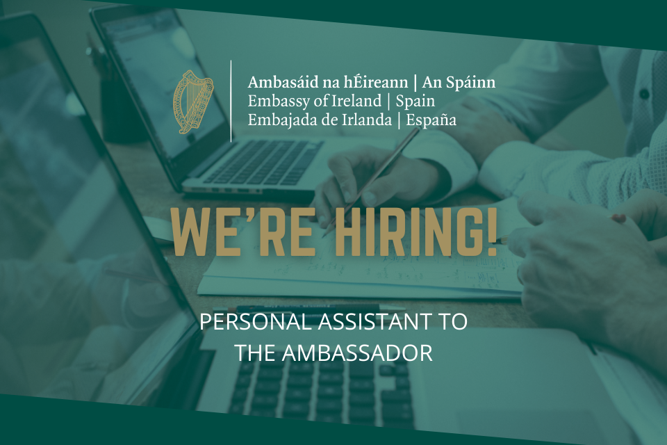 We're hiring - Join the Embassy team!