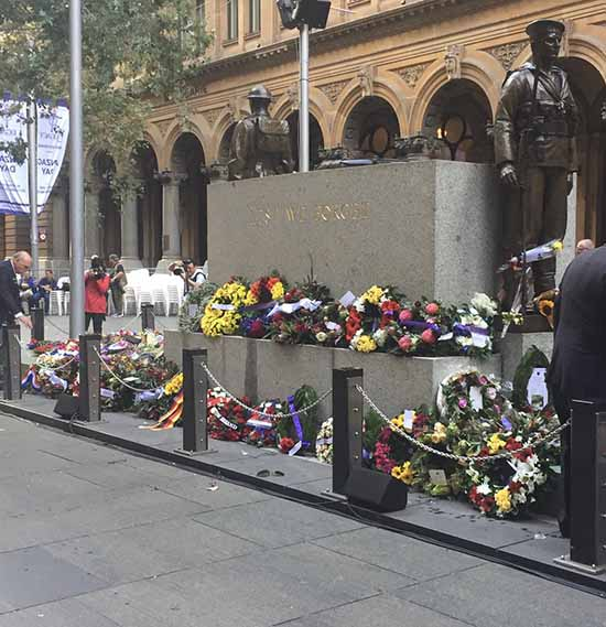 The Cenotaph, Martin Place - DFAT