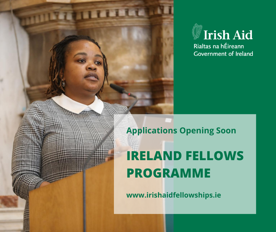 Ireland-Africa Fellows Programme 2021-2022- Applications Now Open