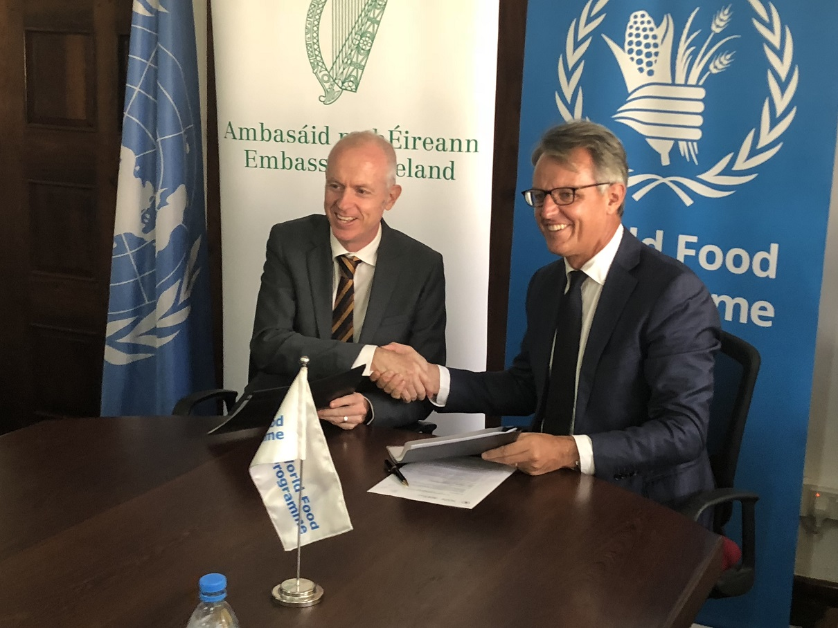 Ireland invests €2.76 million (Tsh 7.32 billion) to improve income opportunities in agriculture