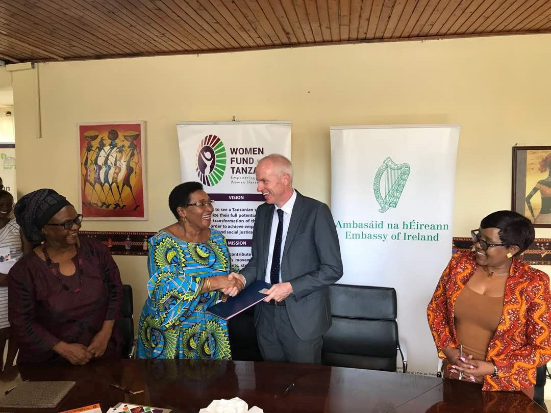 Ireland launches new partnership with Women Fund Tanzania on Women's Rights