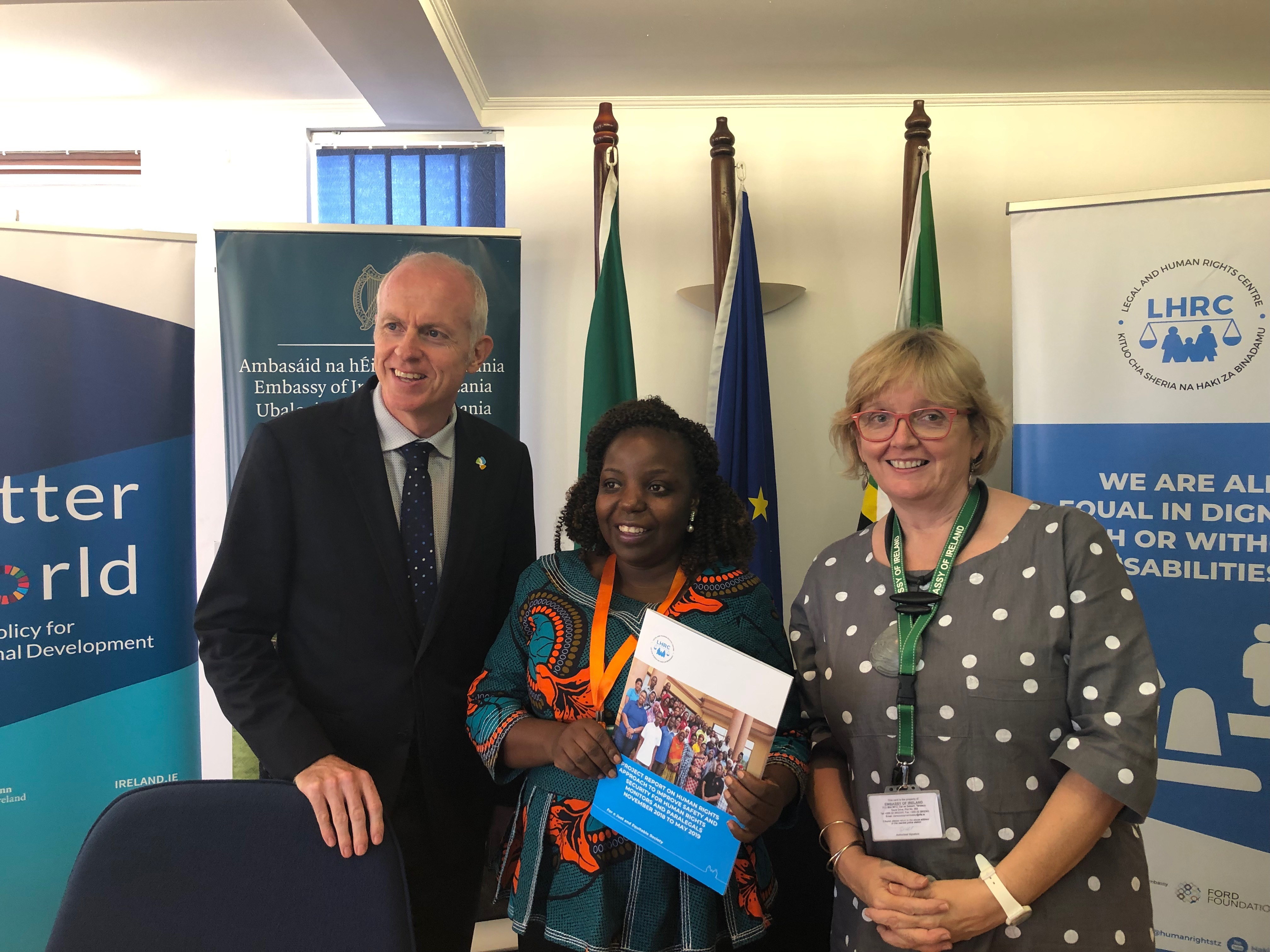 Ireland renews partnership with the Legal and Human Rights Centre