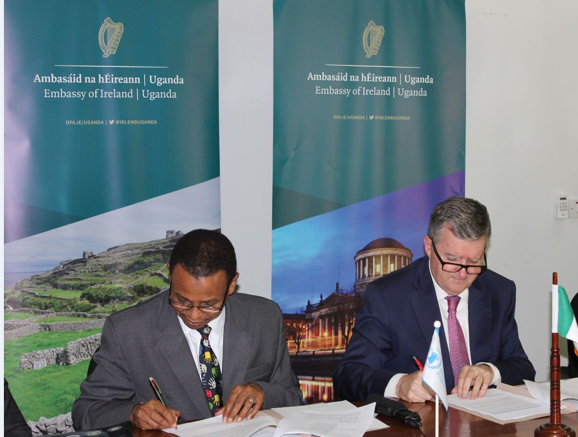 Ireland's commitment to Karamoja and Refugees