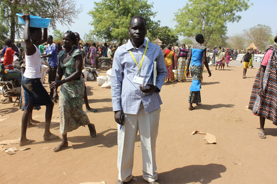 One South Sudanese' journey to Uganda