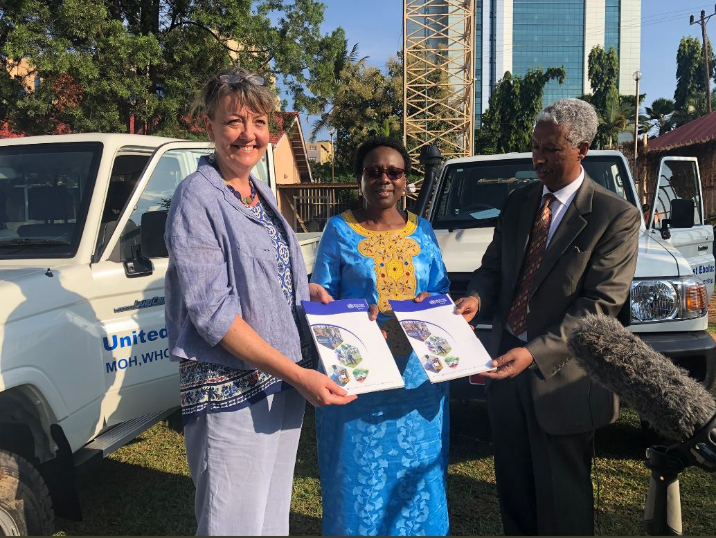 Ireland Supports Ebola Response in Uganda
