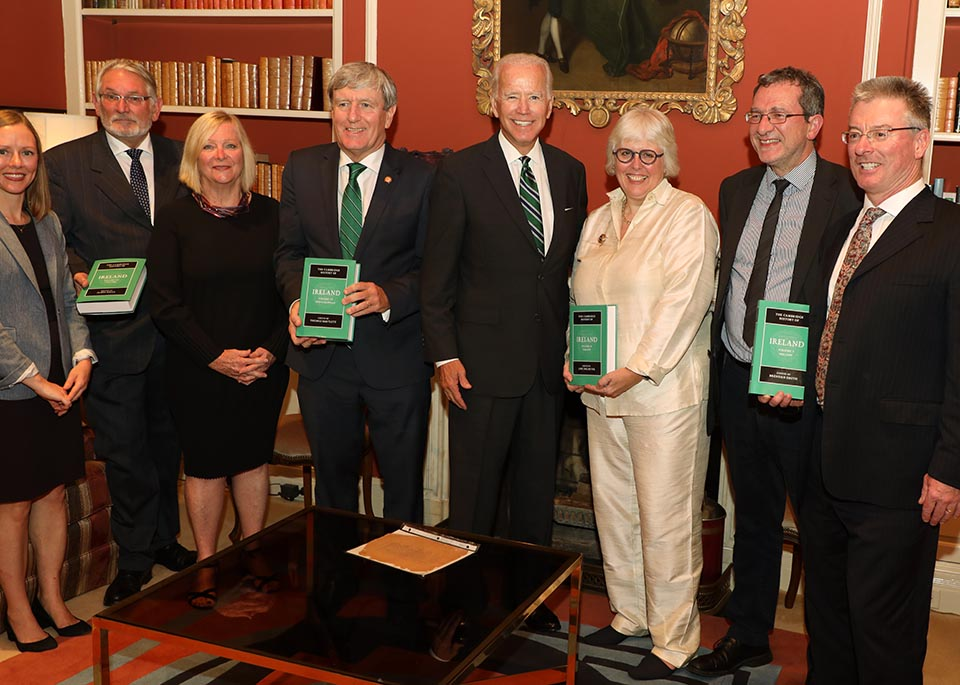 Launch of the Cambridge History of Ireland