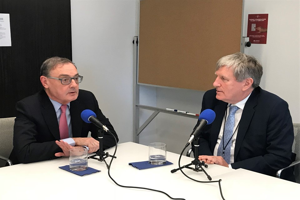 Podcast with departing EU Ambassador to the US, David O'Sullivan