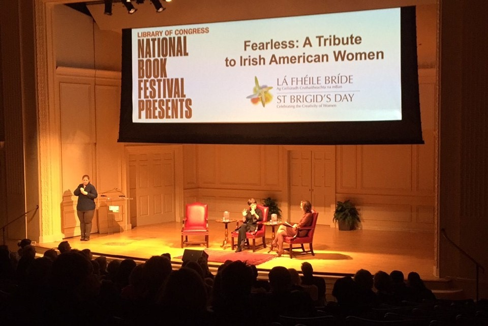 Ambassador's Remarks- St Brigid's Day Celebration of Irish-American Women at the Library of Congress