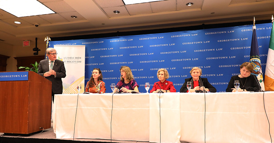 Remarks by Ambassador Daniel Mulhall at St. Brigid's Day Women in Politics panel discussion