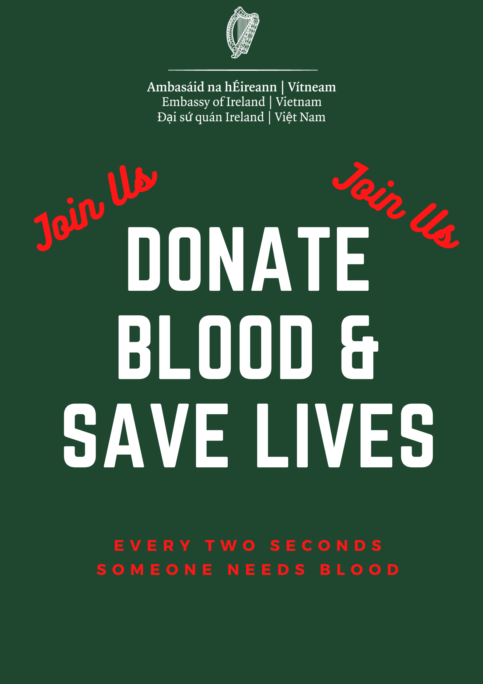St. Patrick's Day Blood Donations