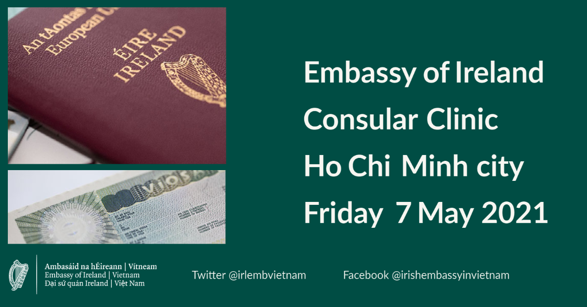 Consular Clinic Ho Chi Minh city - 7 May 2021