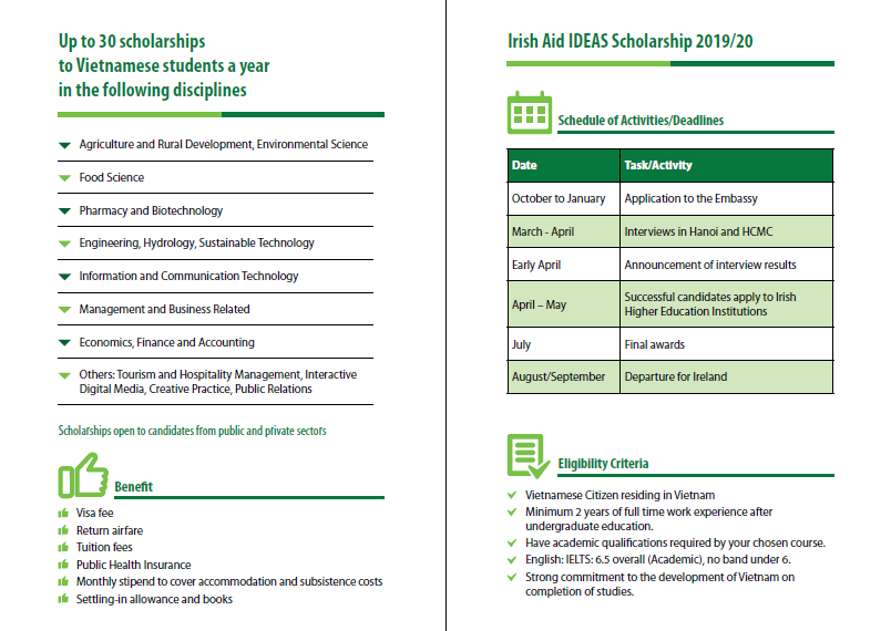 News Archive - IDEAS Scholarship Programme 2019-2020 is now